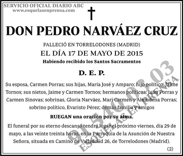 Pedro Narváez Cruz